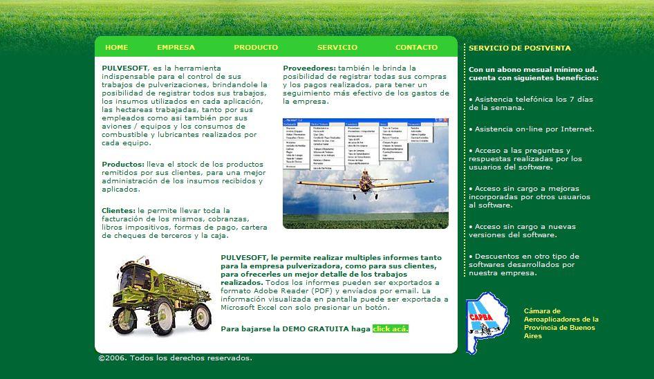 Software para Aeroaplicadores