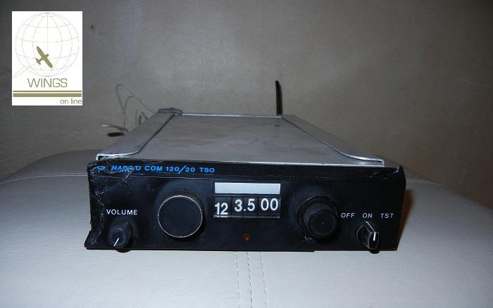 VHF Narco COM 120/20 TSO