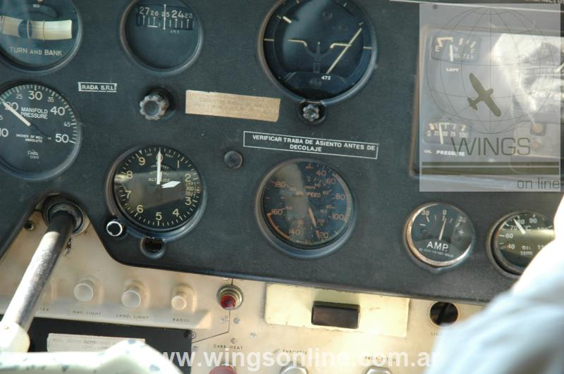 Cessna 180-A – Remolcador