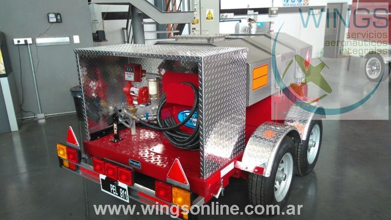 Tanque Cisterna (Ideal para combustible) / Bomba Surtidora /  Trailer de Cisterna / Homólogados