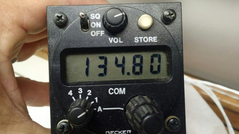 VHF Becker 3201