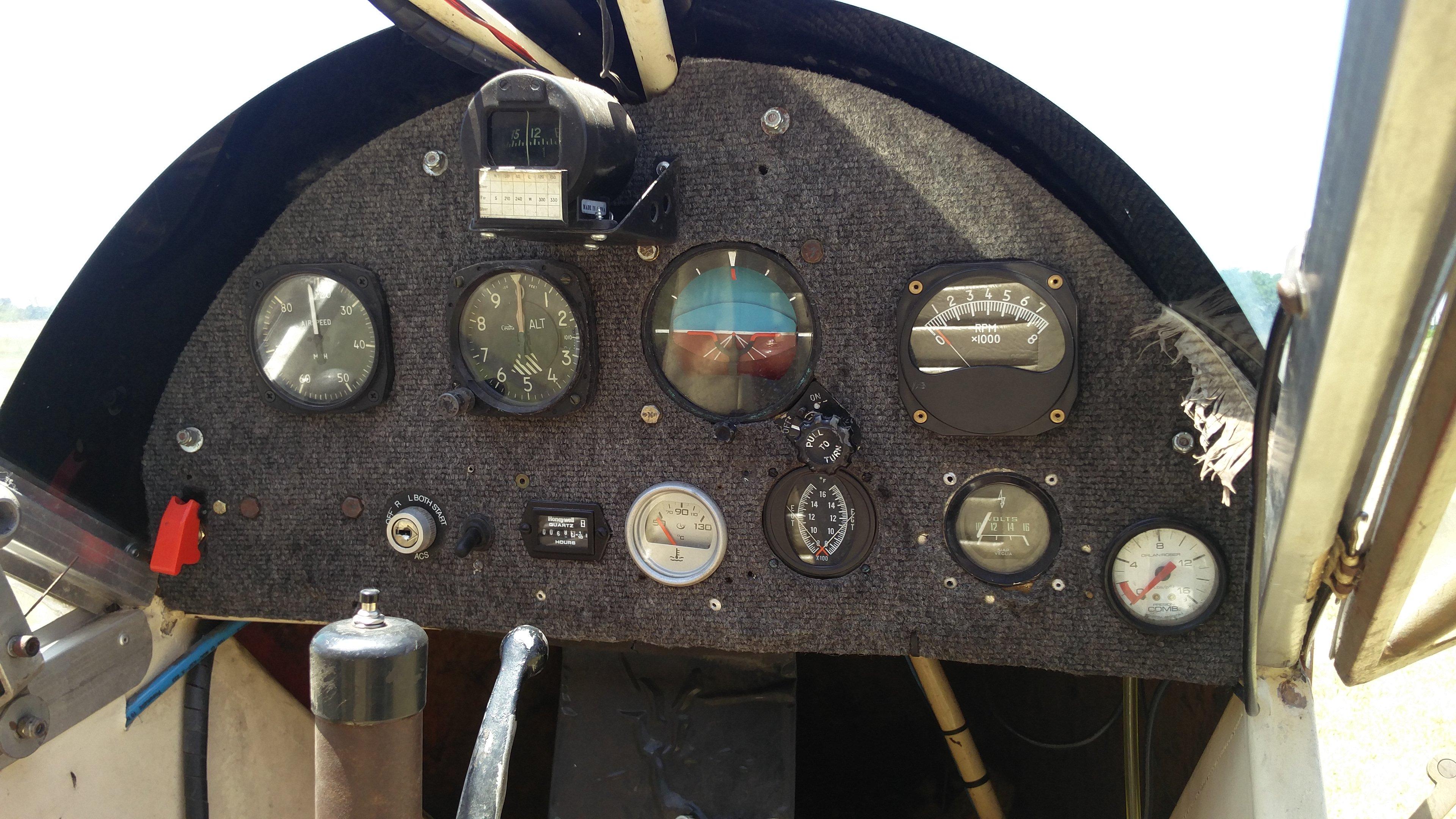 Avión Experimental Biplaza