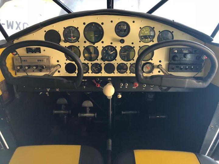 Avión Stinson Voyager 108 150hp Modelo 1947