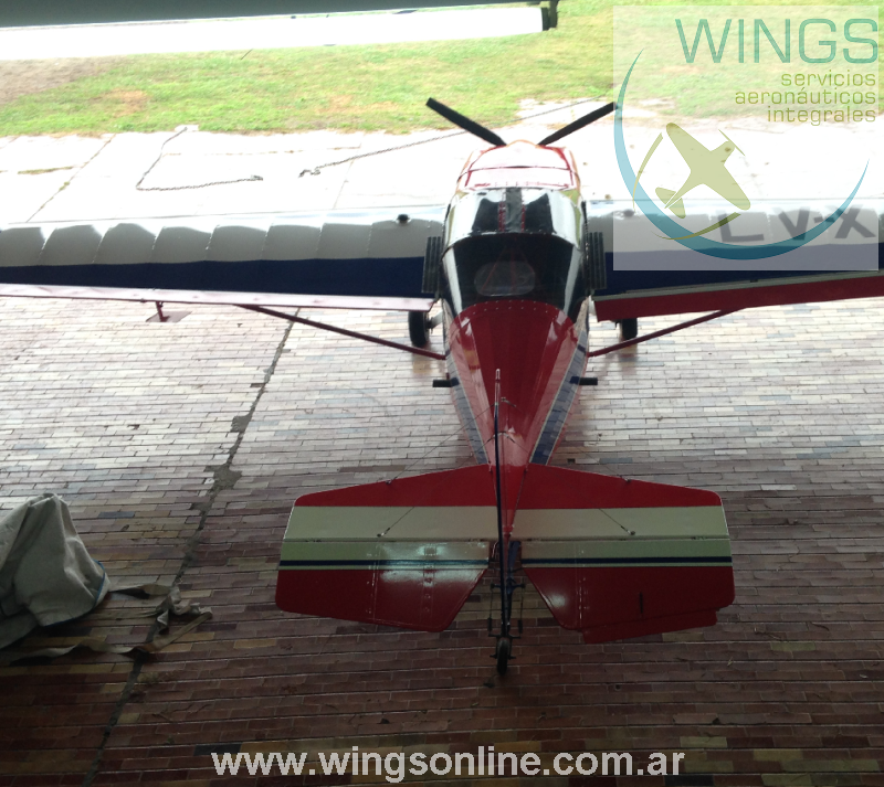 RANS S-10 Acrobático 450hrs totales biplaza